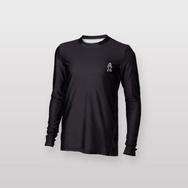 חולצת גלישה ארוכה שחורה לגבר סטארבורד