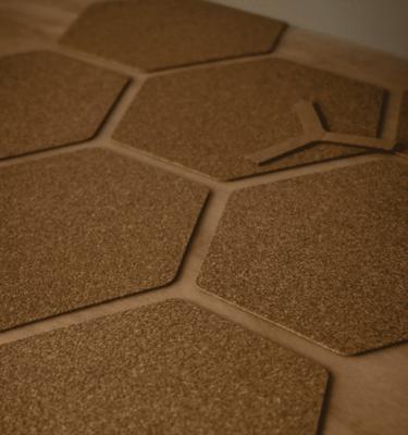 גריפ לגלשן Front Deck Hexa Cork