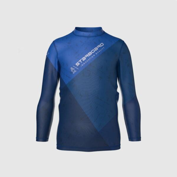 חולצת גלישה לילדים בצבע כחול