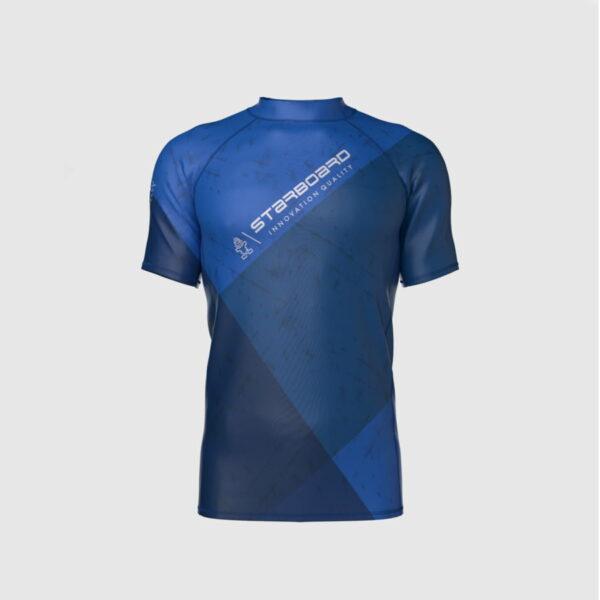 חולצת גלישה לייקרה לגברים כחול